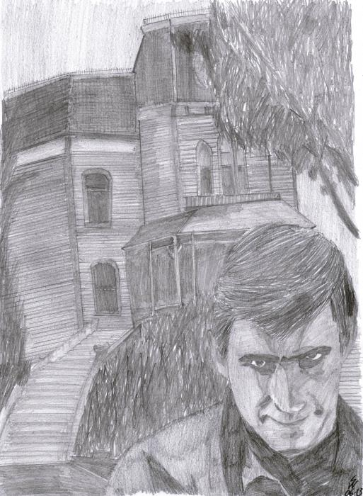 Anthony Perkins by monkfan1992